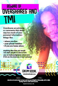Digital Citizenship Posters for Middle School 1
