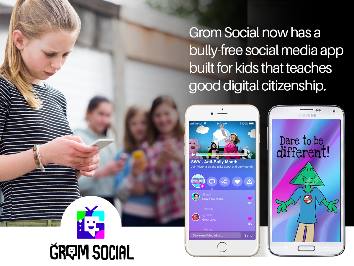 Grom Social is bully free