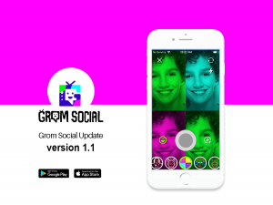 Grom Social Update Version 1.1